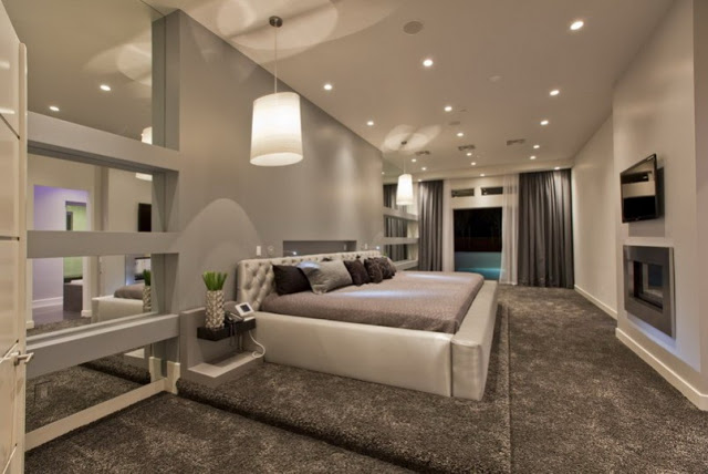 Home Interior Decorating: Master Bedroom Suite Ide