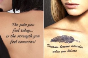 Meaningful Tattoos for Women That Express Your Personality .