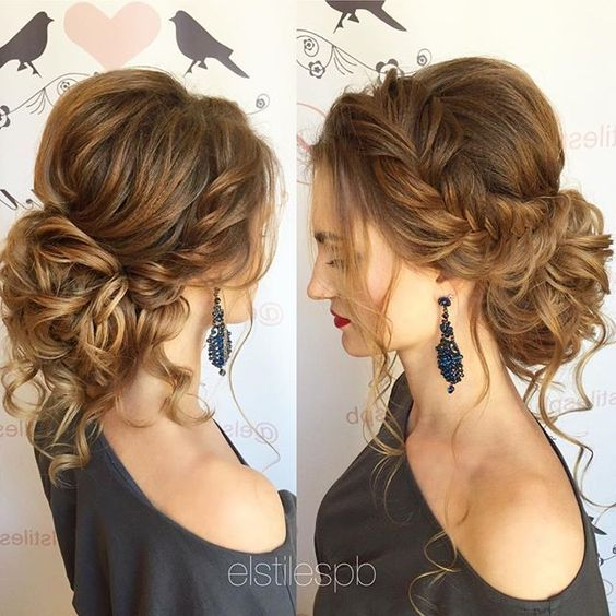 Messy Hairstyles for Girls