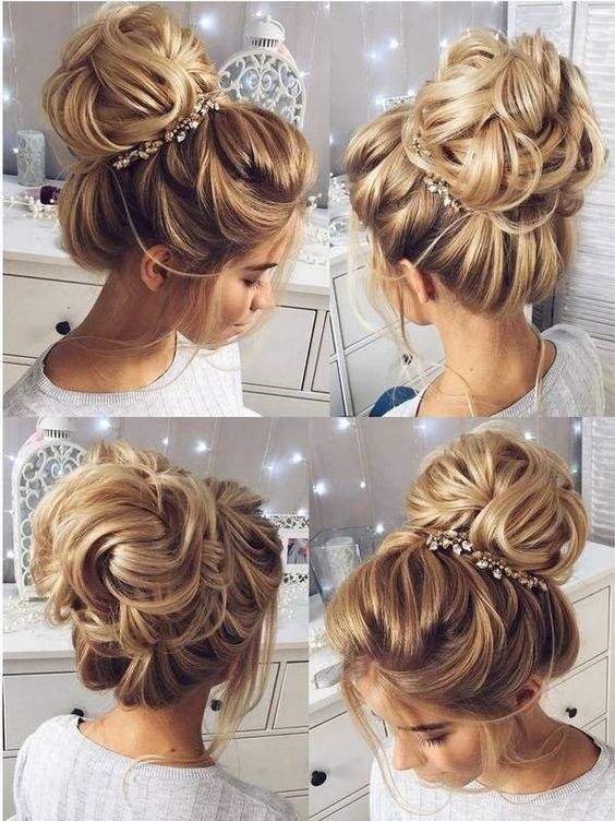 Messy High Bun Hairstyles