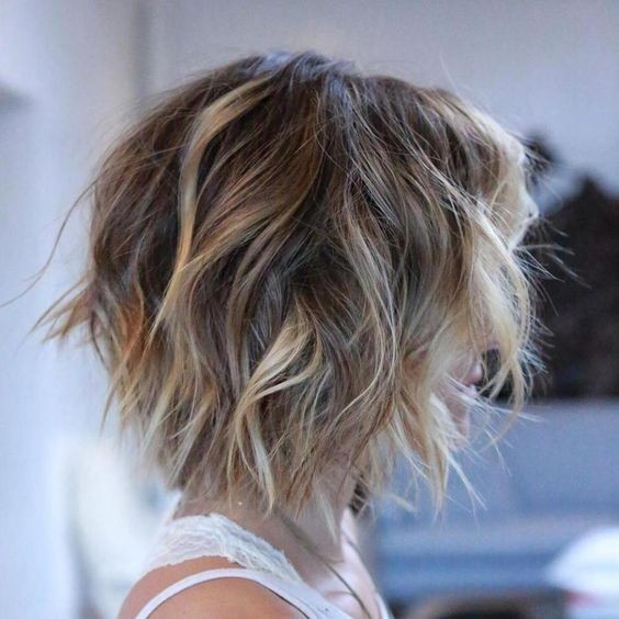 10 Stylish Messy Short Hair Cuts 20