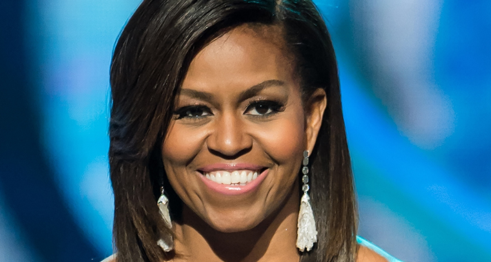 Michelle Obama's Best Hairstyles | StyleCast