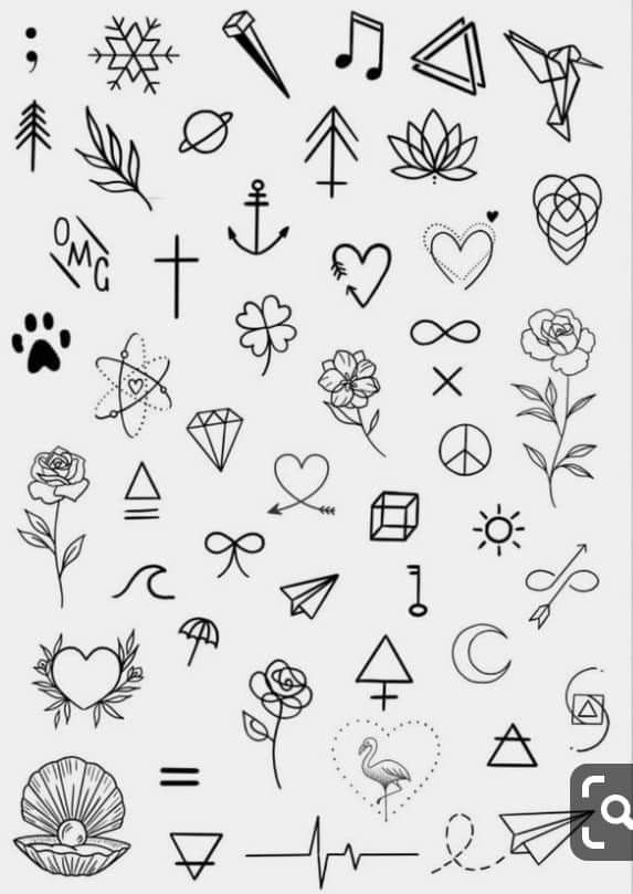 Mini Tattoo Designs