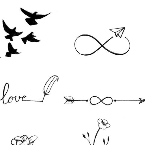 100 minimalist tattoo idea eBook – Tattoo Design Sto