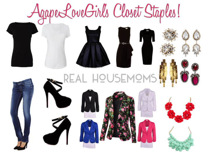 Must-Haves for Your Closet ⋆ Real Housemo