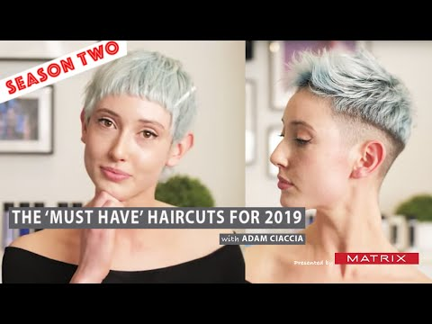 How to Create a Punk Pixie Cut - The 'MUST HAVE' Haircuts of 2019 .