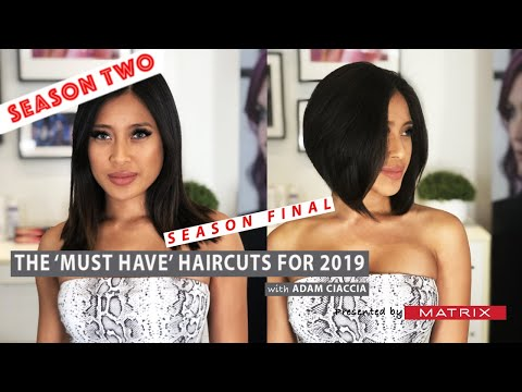 How to Cut an A-Line or Concave Bob - The 'MUST HAVE' Haircuts of .