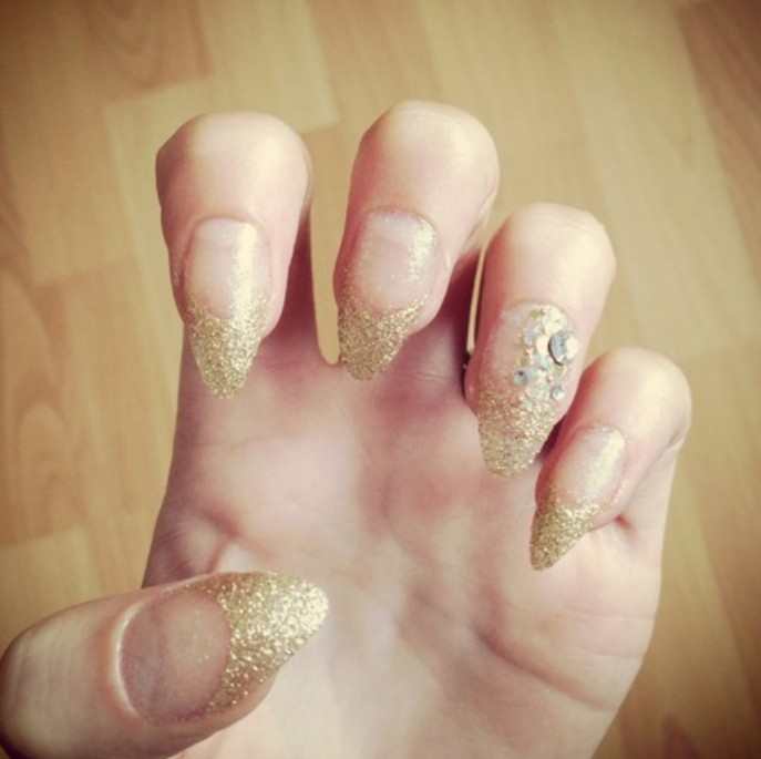 Nail Design Ideas for Party Glamour - Pretty Desig