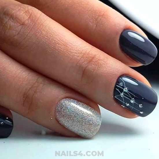 35+ Easy Nail Design Ideas for Party | Simple nail designs, Simple .