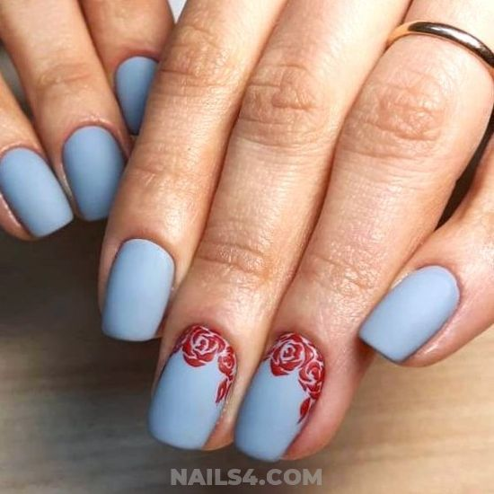 35+ Easy Nail Design Ideas for Party | Simple nail designs, Gel .
