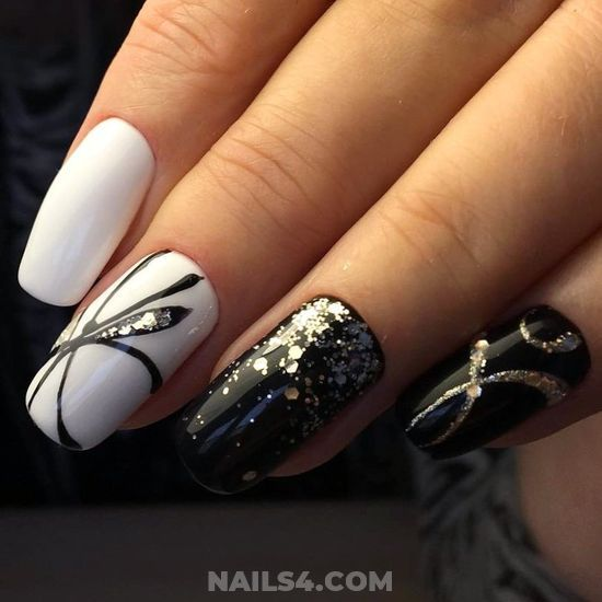 35+ Easy Nail Design Ideas for Party | Simple nail designs, Toe .