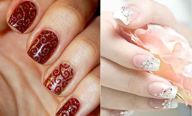 Nail Art Ideas For Your Wedding