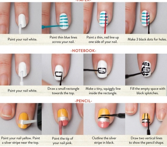 30 Striped Nail Designs and looks to try wi
