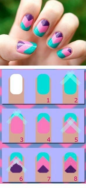 Nail Tutorials: How to Use Scotch Tape