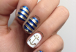 14 Refreshing Nautical Nail Art Designs for 2014 - Pretty Desig