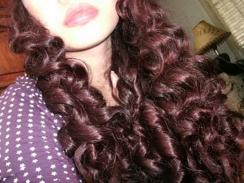 New No heat curly-wavy hair tutorial- No products, no curlers, no .