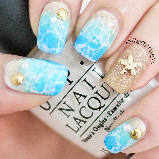 Beach Ocean Nail Art Pictures, Photos, and Images for Facebook .