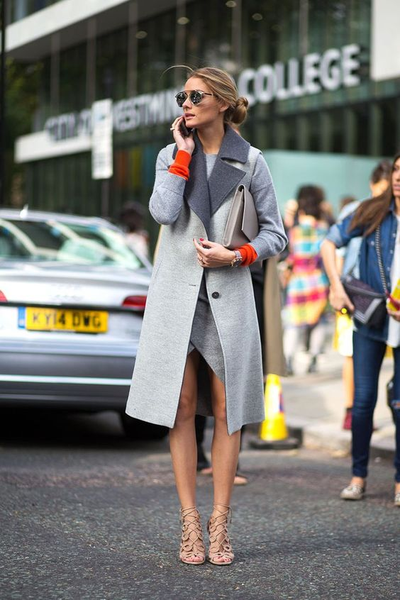 16 Olivia Palermo's Styles with Cage Shoes - FlawlessE