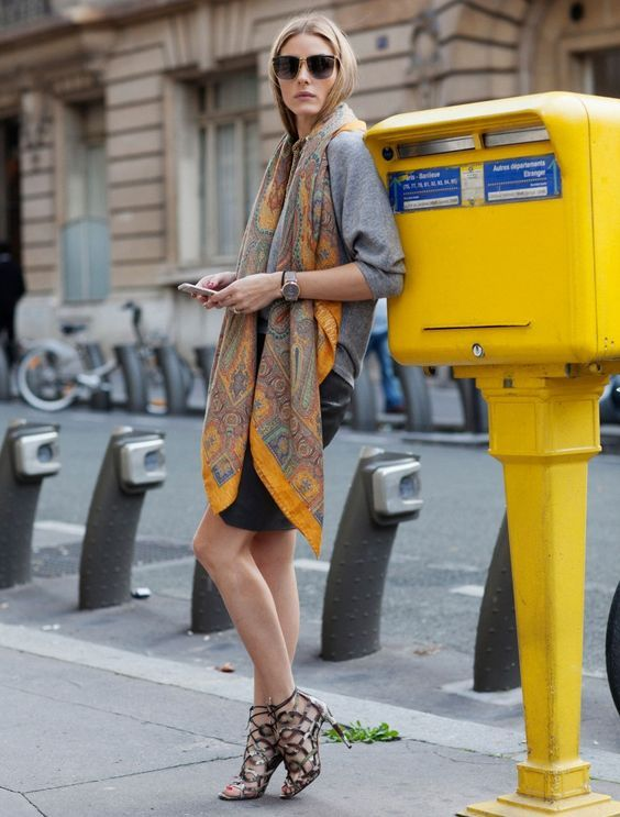 Olivia Palermo's Styles with Cage Shoes