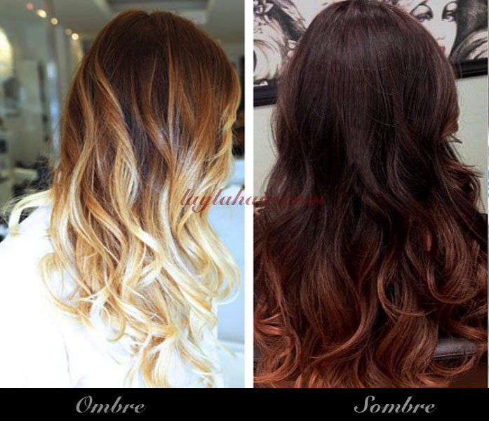The Difference Between Ombre and Sombre - Two Hottest Hair Col