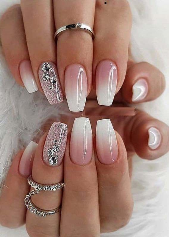 Superb Nail Designs for Women in Year 2019 | Bridal nail art .
