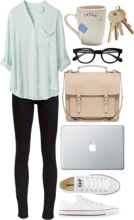 20 Styling Ideas with Leggings   Cute college outfits, Cute .
