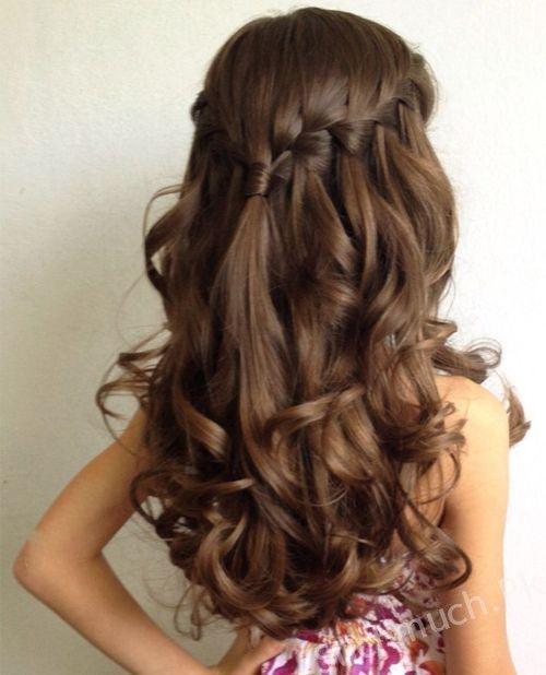 9 Easy Party Hairstyles For Your Little Princess, Little Girls .