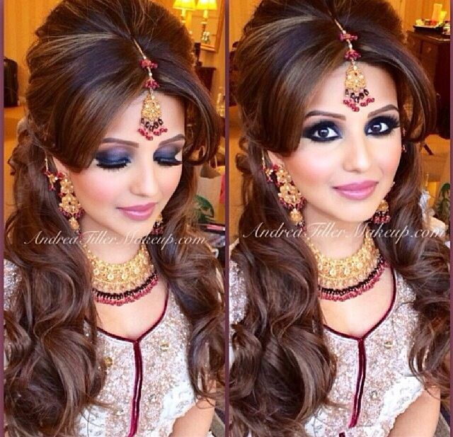 indian hairstyles for party - Google Search | Indian hairstyles .