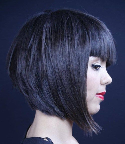 Perfect For Autumn 7 Layered Bob Haircuts With Bangs | Hair .
