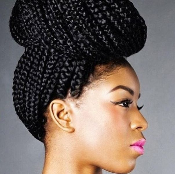 50 Best Black Braided Hairstyles - 2020 | Crucke