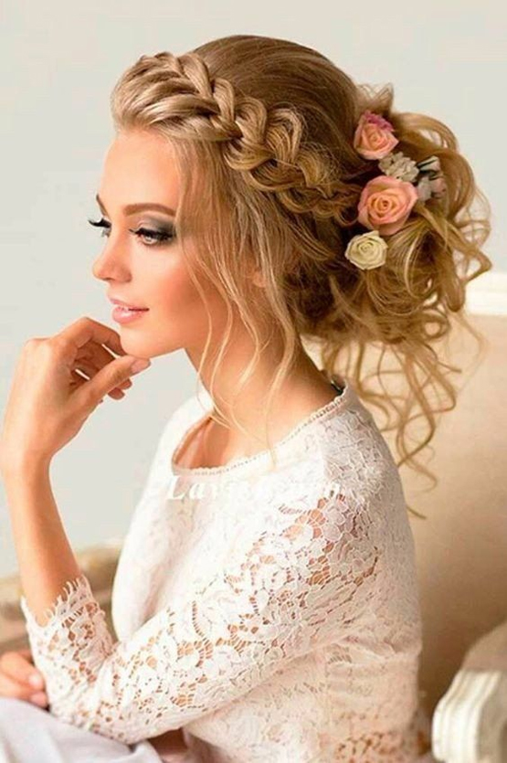 21 So Perfect Curly Wedding Hairstyles – Cracklee