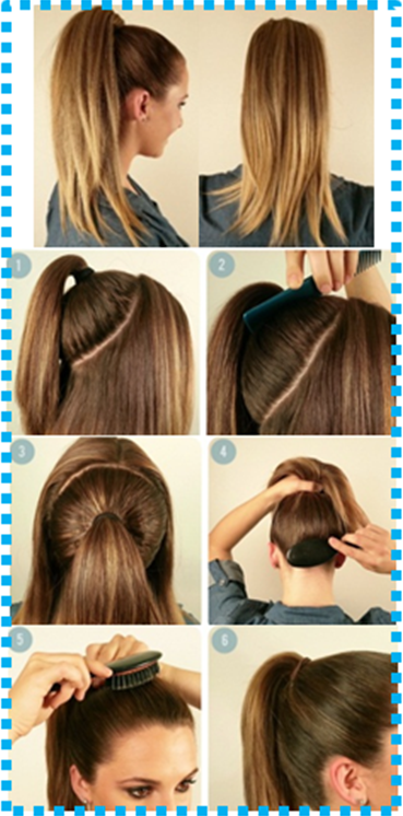 How to do the Beyoncé Ponytail | Hair ponytail styles, Perfect .