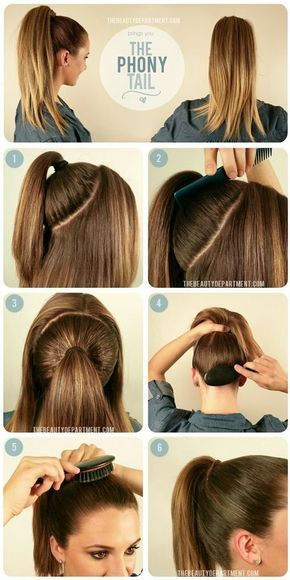 27 Tips And Tricks To Get The Perfect Ponytail | Hair ponytail styl