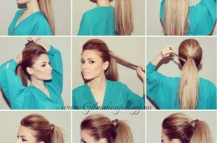 How To Make The Perfect Party Ponytail | Long hair styles, Perfect .