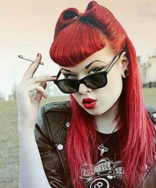30 Pin Up Hairstyles for that Retro Look   All Women Hairstyl
