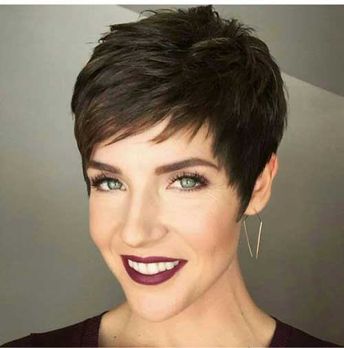 Supe Short Pixie Haircuts for Women 2018 - Style2