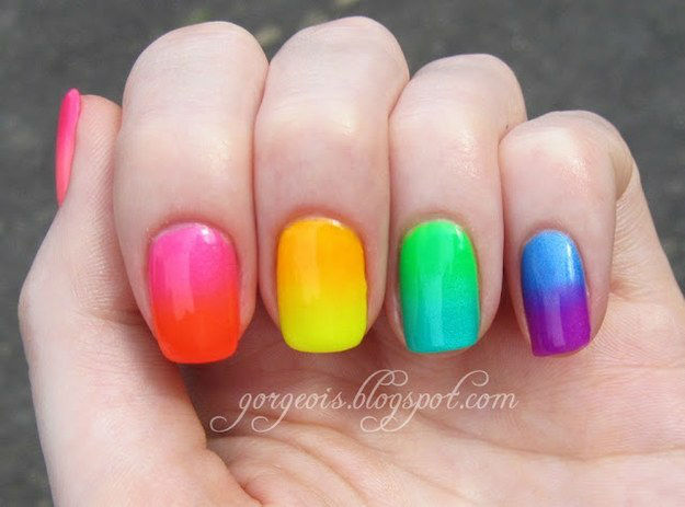 42 Playful Nail Art Designs for Summer - Sort
