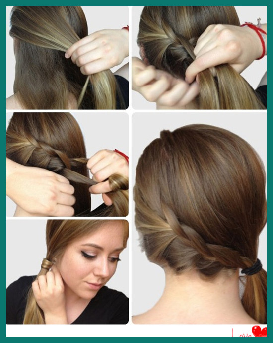 Simple Hairstyles for Straight Medium Hair 546433 5 E Minute Basic .