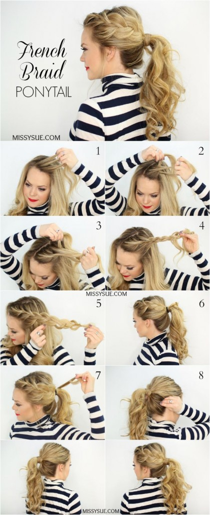 Ponytail Tutorials for Summer