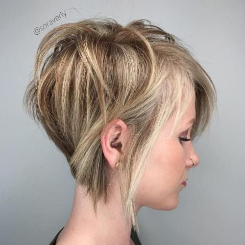 100 Mind-Blowing Short Hairstyles for Fine Hair | Short hair with .