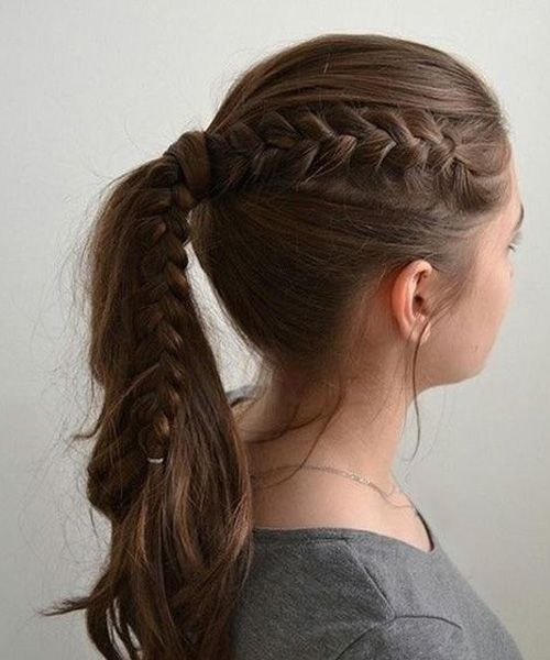 Cutest Easy School Hairstyles for Girls | Cool hairstyles, Medium .