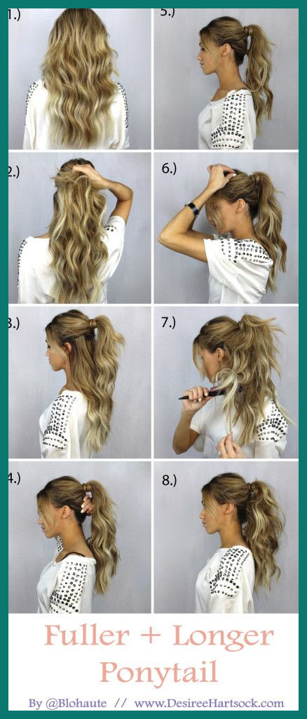 Easy Pretty Hairstyles 288141 10 Easy and Cute Hair Tutorials for .