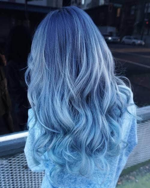 50 Fun Blue Hair Ideas to Become More Adventurous in 20