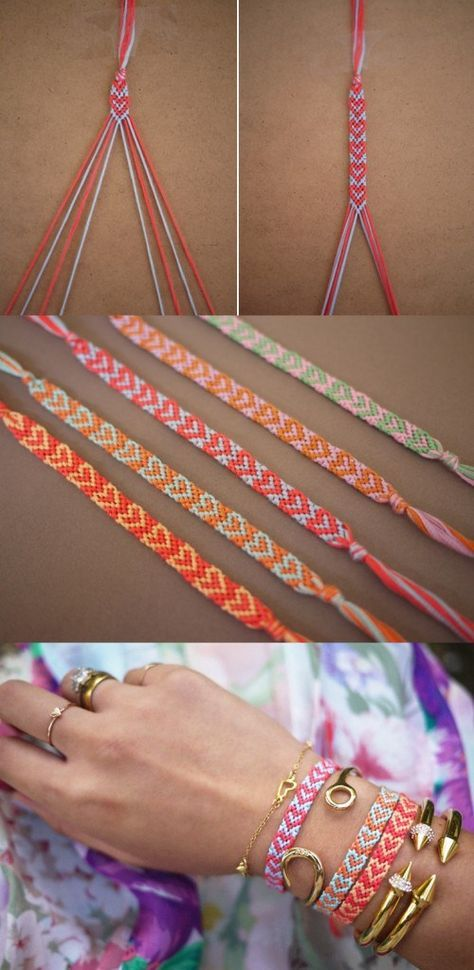 Top 60 Pretty Bracelet Tutorials | For Raquel | Diy bracelets easy .