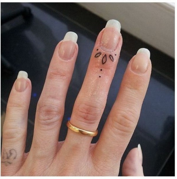 50 Beautiful Finger Tattoo for Women – Page 21 – Foliver bl