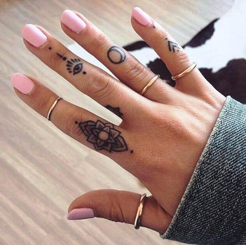 33 Small & Meaningful Finger Tattoos Ideas | Finger tattoos .