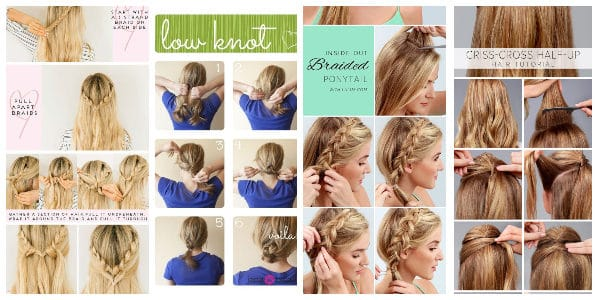 Pretty Hair Tutorials For Teen Girls That Are Easy To Ma