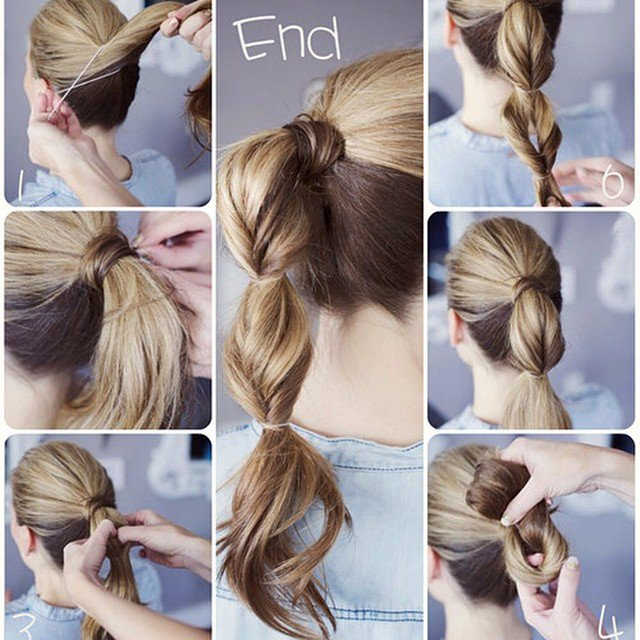 Simple Ponytail Hairstyle Tutorial | Styles Week