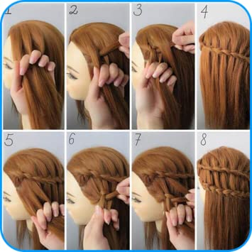 Amazon.com: Hairstyle Tutorials for Girls: Appstore for Andro