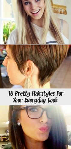 16 Pretty Hairstyles For Your Everyday Look in 2020 | Pretty .